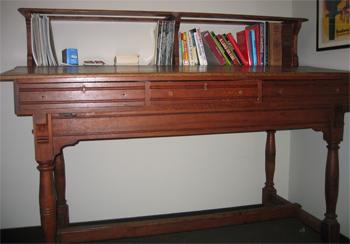 Antique Standing Ledger Desk Dave S