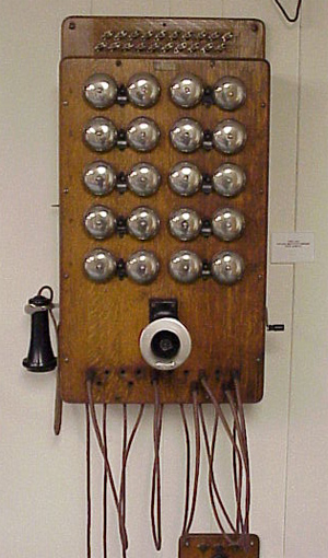 Western Electric 10 Station Switchboard Telephonearchive